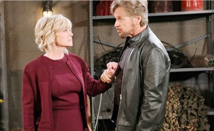 Days Of Our Lives Spoilers Mary Beth Evans Is Teamjustin Find Out Why She Hopes They Stay Together Tv Soap Videos